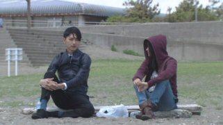 月の恋人篠原涼子松田翔太海辺で.jpg